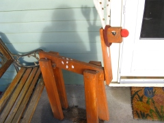 folk art reindeer